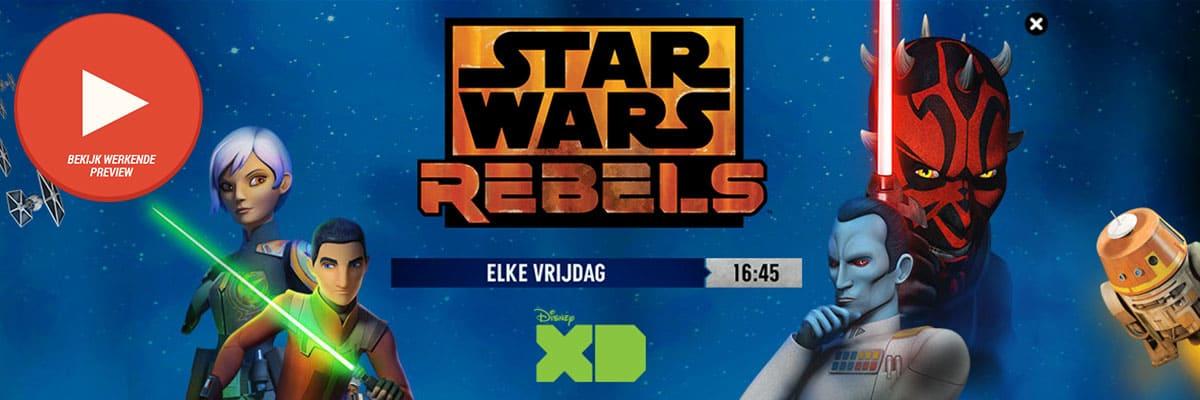 Star Wars Rebels XD - DSlab StarWarsRebelsS3 DisneyXD videoHPTO