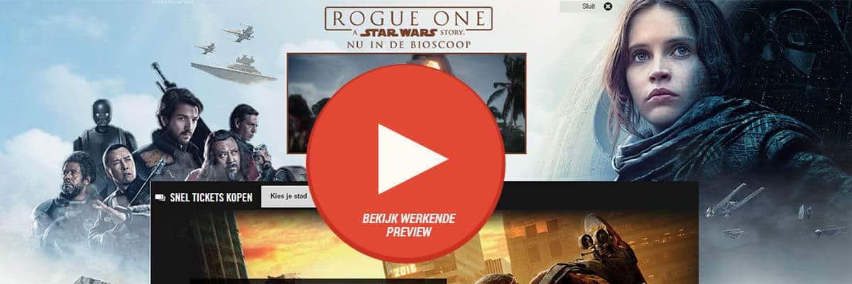 Disney Rogue One - DSlab Disney Rogue One videoHPTO Pathe