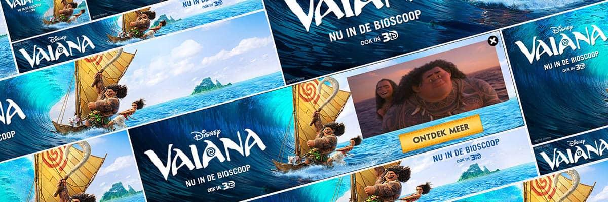 Disney Vaiana - DSlab Disney Vaiana IAB bannerset