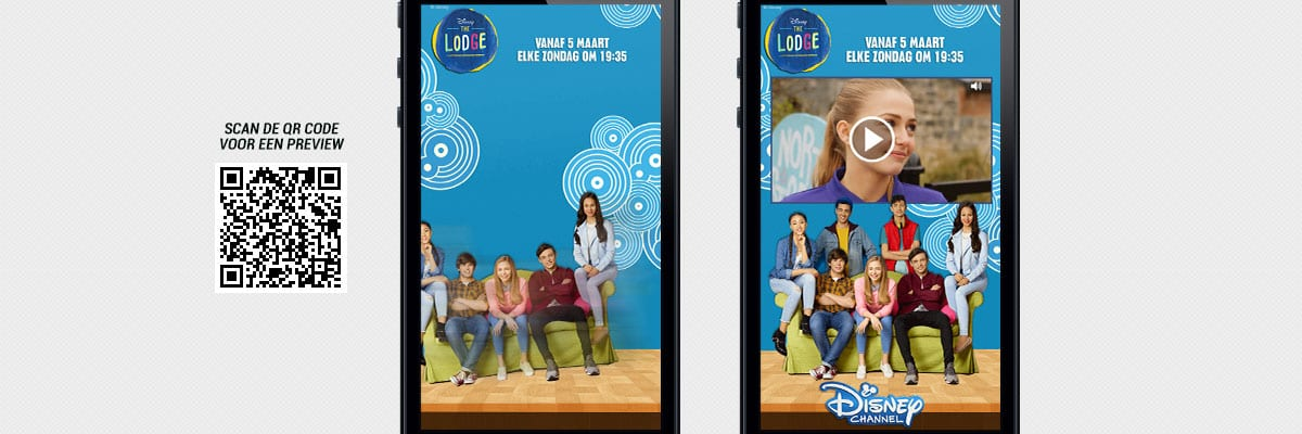 Disney Channel: The Lodge - cases Interstitial