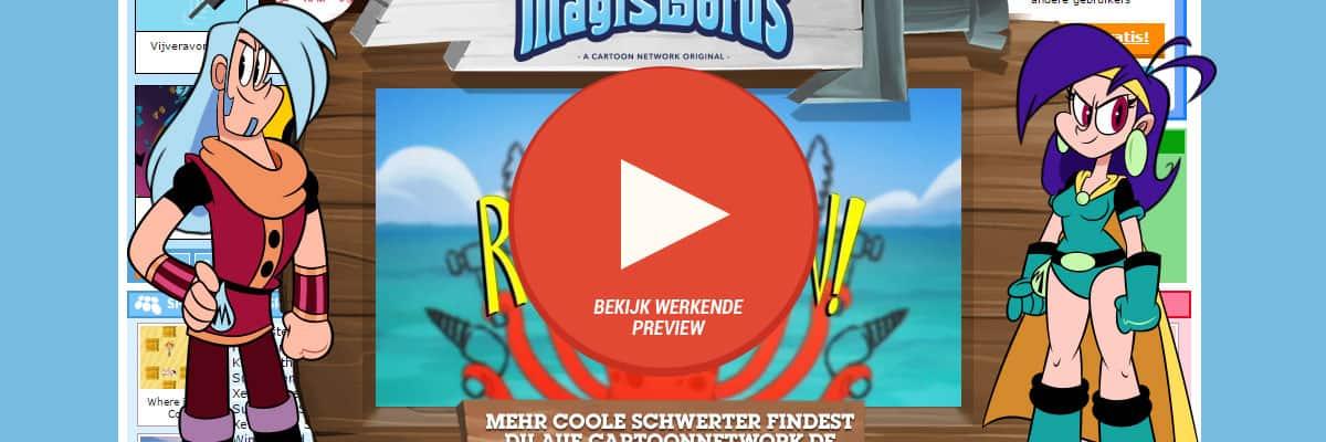 Cartoon Network Duitsland: Mighty Magic Sword - interactiveLayer