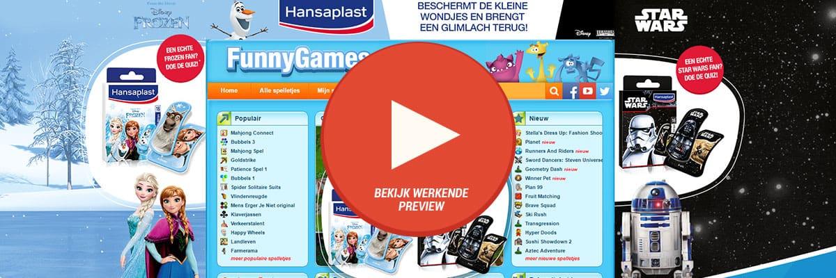 Hansaplast: Star Wars & Frozen - interactive hptolayer