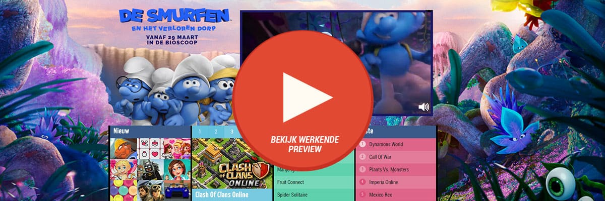 Sony: Smurfs - videoHpto 1