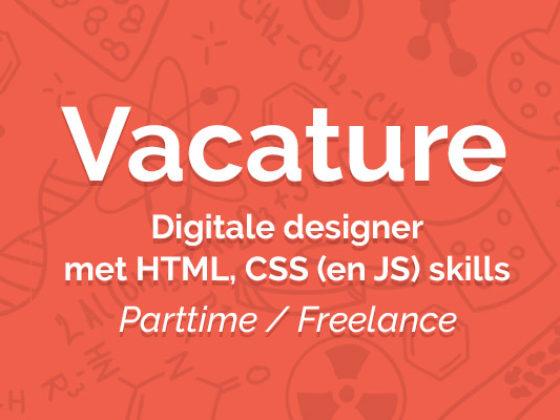 Designer met HTML, CSS (en JS) skills - vacature digitale designer 1